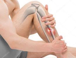 Основные виды переломов ноги